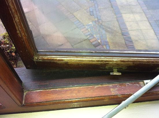 Blakelands Country House: Rotting window frame