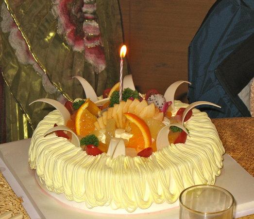 DaTang JinCheng: Birthday cake, chinese style