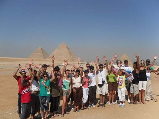Sharm Club: One of our groups in Cairo