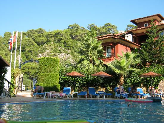 Eden Garden Apartments: by the pool