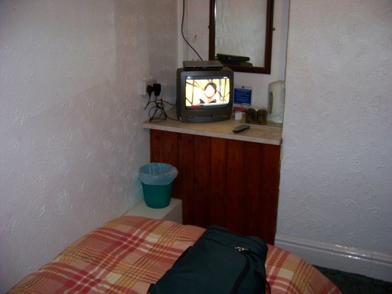 Stockton Grange Hotel: THE TV & COFFEE AREA