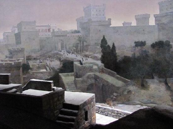 Jerusalem Panorama: rooftops