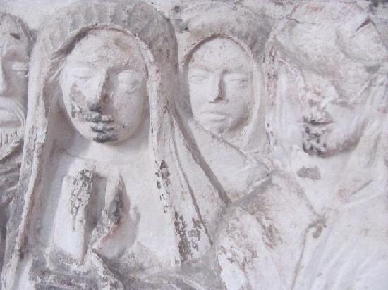 Friedhofskirche St. Michael: detail epitaph