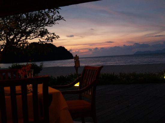 Tanjung Rhu Resort: Truly breathtaking sunsets