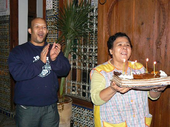 Riad Saada : Vraiment délicieux le gâteau !