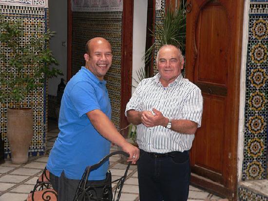 Riad Saada : Avec Papé !