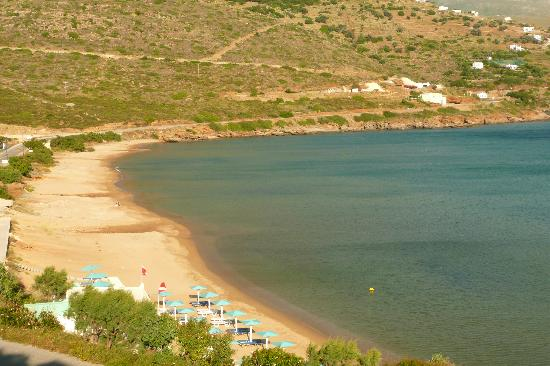 Hotel Perrakis: η παραλία