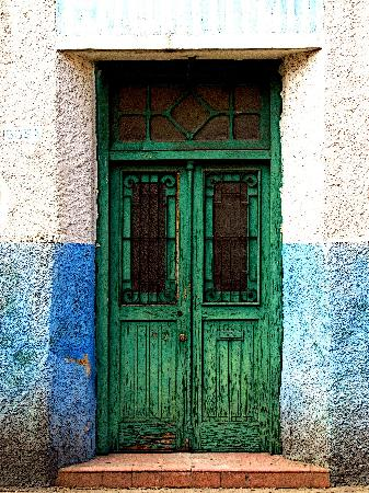 Mexicolors Gallery : Doorway, Merida