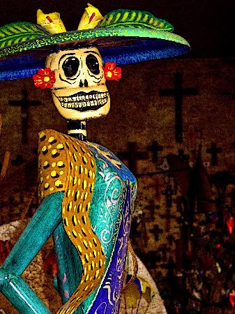 Mexicolors Gallery : Catrina, Tlaquepaque
