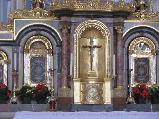 St. Magdalena (Stiftskirche): tabernacle
