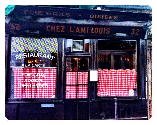 Chez L'Ami Louis by Jeremiah Christopher