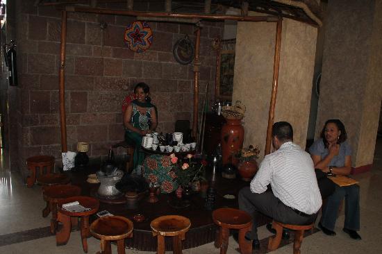 Hilton Addis Ababa: Coffee Ceremony