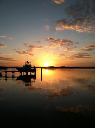 Island Bay Resort: the best sunset that week