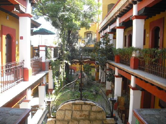 La Cabaña de Puerto Angel: Hotelhalle