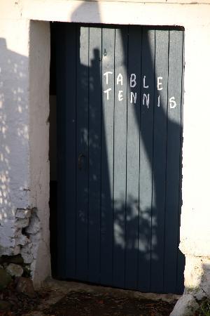 Vejle Golf Bed & Breakfast : Table tennis