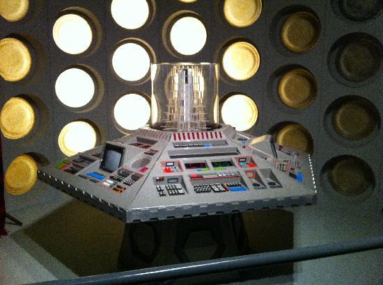 Doctor Who Experience Cardiff Bay: TARDIS ANTIGUA