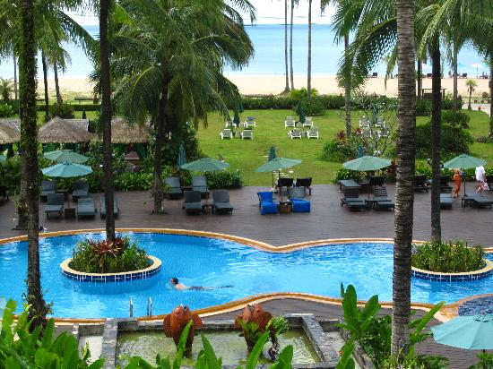 from my room - picture of khaolak orchid beach resort, khao lak