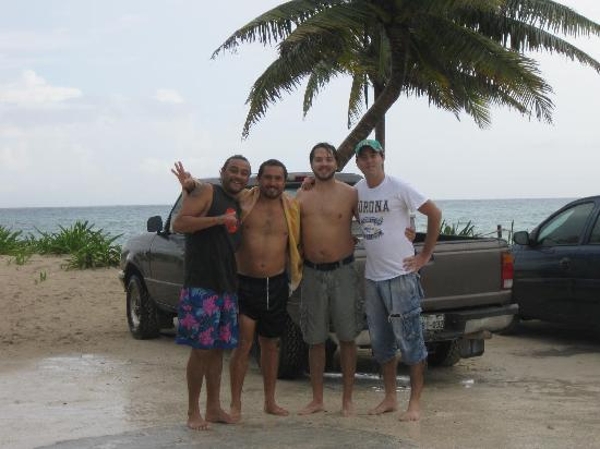 Cancun Diving College : Ro Tavo Hector Eric