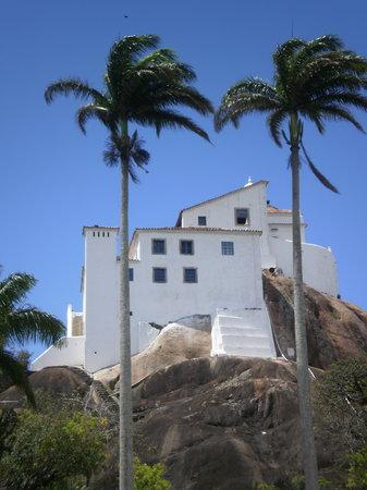 Vila Velha, ES: O convento.