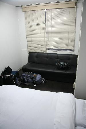 Reino Inn Hiroshima Peace Park: Private double room