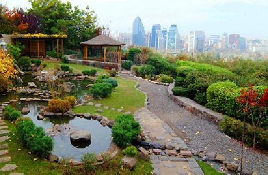 Foto de cerro san crist bal santiago jard n japon s for Jardin japones piscina