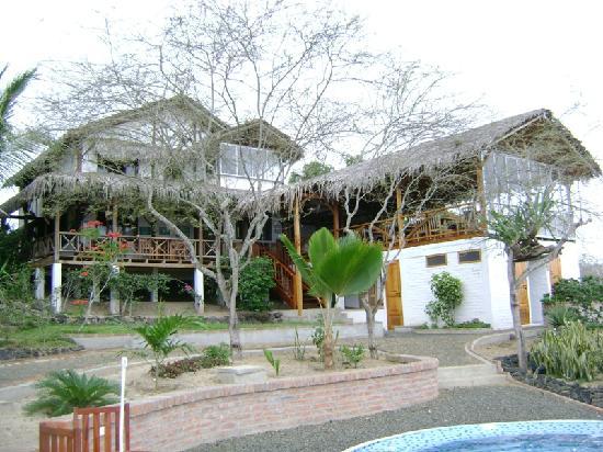 Hosteria La Terraza : Area de recepcion y restaurante
