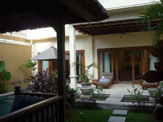 Sekar Taman I Villas: Garden View
