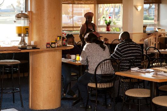 Randburg, Sudáfrica: Breakfast room