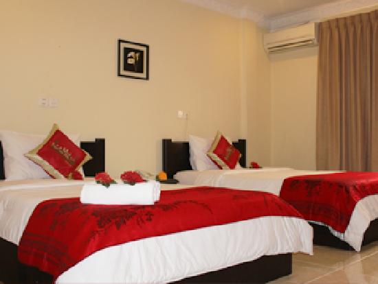 Sre Leap Hotel: Twin Room Ensuite
