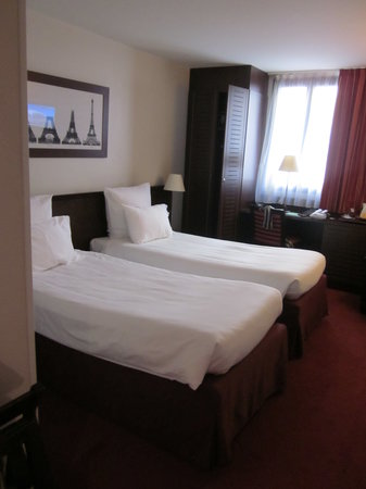 Hôtel Concorde Montparnasse: Twin Bed Room