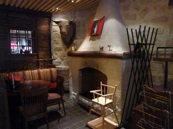 Original Sokos Hotel Valjus: Kaminecke