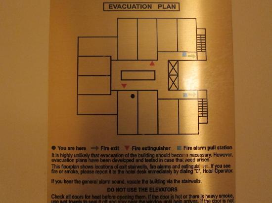 Floor Plan Picture Of Paramount Hotel Portland Tripadvisor