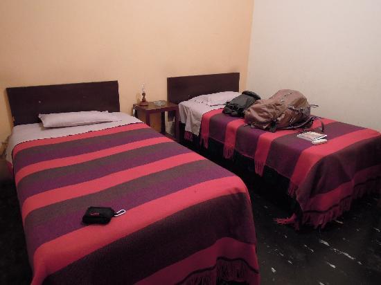 Hostal Posada Guadalupe: ベッド
