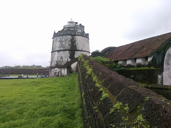 Sinquerim, India: Fort Aguada