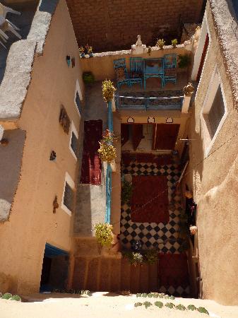 Tinerhir, Maroc : intérieur du patio