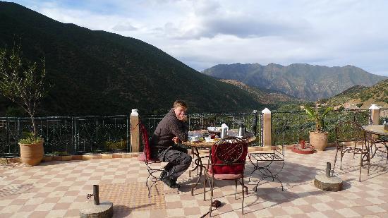 Ouirgane, Maroko: Breakfast