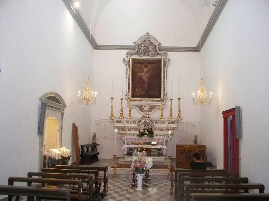 Chiesa di Santo Stefano (Oratorio dei Neri): interno