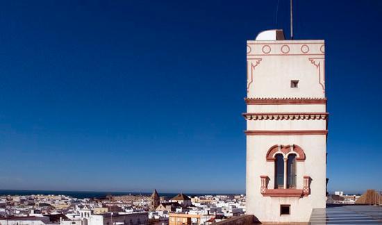 Panorámica Torre Tavira Cádiz