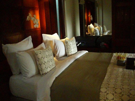 Alila Ubud: our king bed