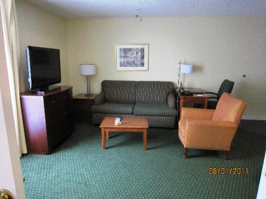 Residence Inn Bakersfield: Spacious living room.