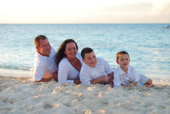 Beaches Turks & Caicos Resort Villages & Spa: Family photo taken by Beaches