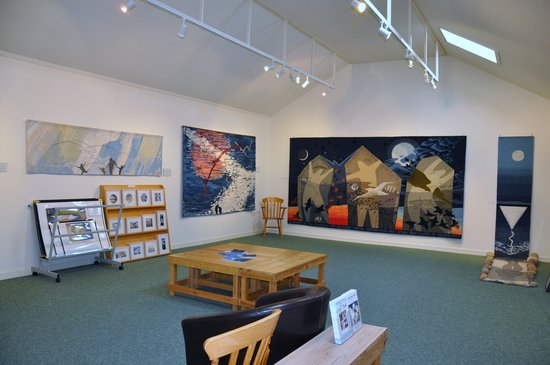 South Ronaldsay, UK: View of Hoxa Tapestry Gallery