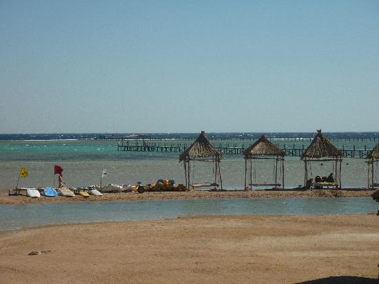 Coral Sea Holiday Village: Pier