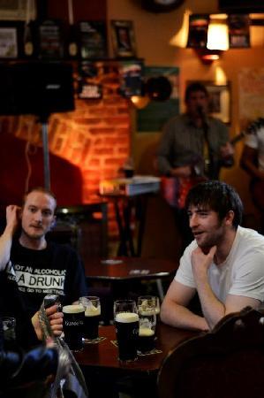 Denvir's Hotel: front bar live music