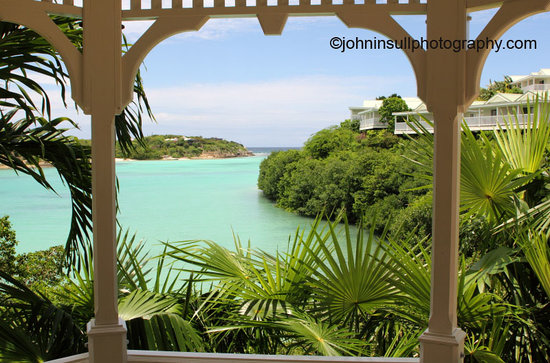 Saint Philip, Antigua: View from a pagoda
