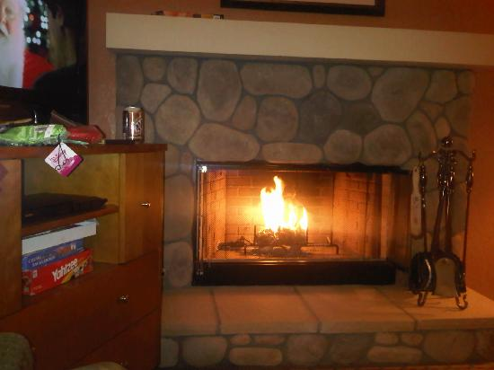 Lake Arrowhead Chalets: The Fireplace