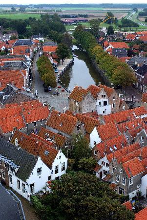 Abbey Tower of Long John (Abdijtoren de Lange Jan): View from Goederode tower