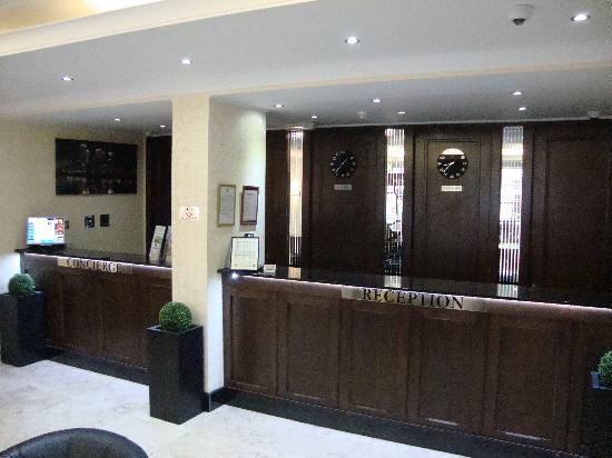 Reception picture of queens park hotel london tripadvisor for 48 queensborough terrace london w2 3sj