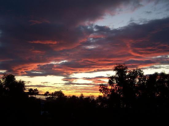 เมเลีย มาร์เบลล่า บานุส โฮเต็ล: Sonne am 7:45