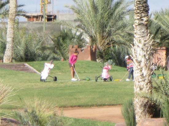 Atlas Golf Resort Marrakech: cours pour les enfants